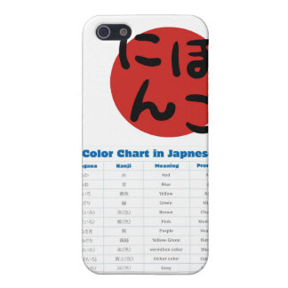 Japanese Color Chart Phone Case