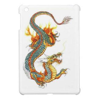 JAPANESE COLORED DRAGON iPad MINI COVER
