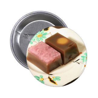 Japanese confectionery pinback buttons