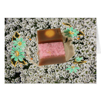 Japanese confectionery cards