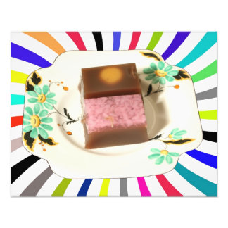 Japanese confectionery swirl photo print