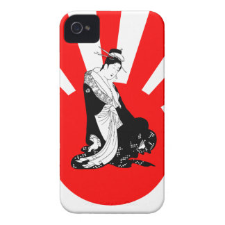 Japanese Contemplation Thinking of You Case-Mate iPhone 4 Case