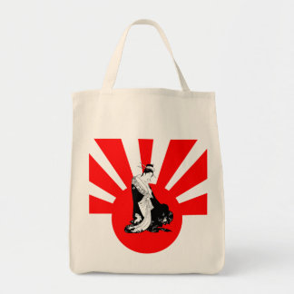 Japanese Contemplation Thinking of You Tote Bag