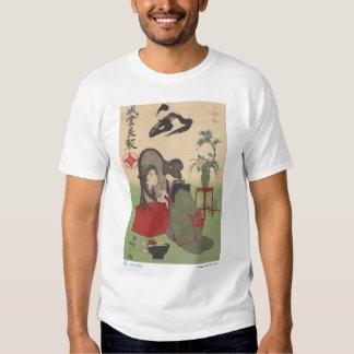 Japanese cosmetic advertisement shirts