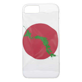 Japanese country flag white and red iPhone 8/7 case