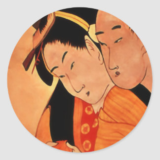 Japanese Couple stickers