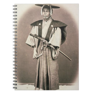 Japanese Court Official or Samurai, c.1870s (hand- Spiral Note Books