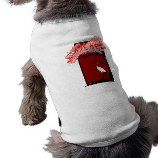 Japanese Crane Dog Shirt