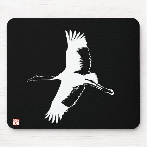 Japanese Crane mousepad