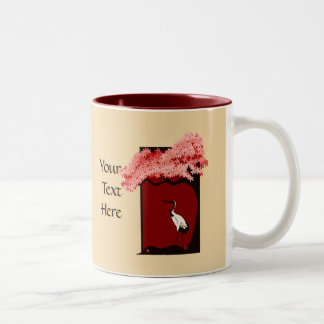 Japanese Crane Mug