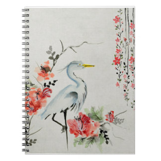 Japanese Crane Notebook