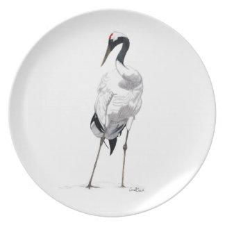 Japanese Crane Plate