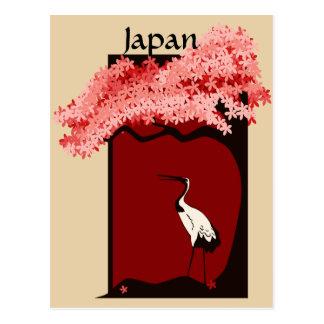 Japanese Crane Postcard