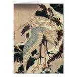 Japanese Cranes Holiday Card