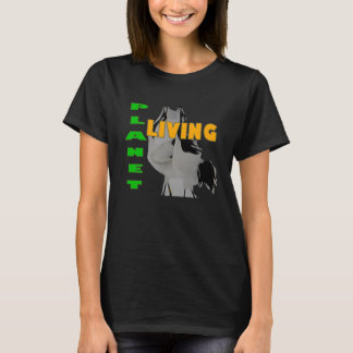 Japanese Cranes Living Planet T-Shirt