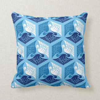 Blue And White Japanese Pillows Decorative Throw Pillows Zazzle