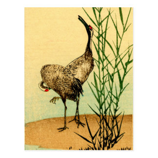 Japanese Cranes no.1 Postcard
