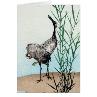 Japanese Cranes no.2 Card
