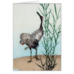 Japanese Cranes no.2 Stationery Note Card