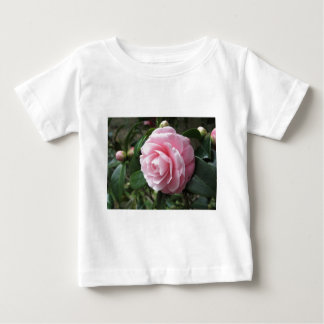 Japanese cultivar of pink Camellia japonica Baby T-Shirt