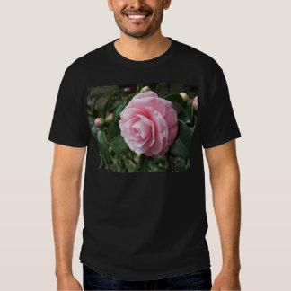 Japanese cultivar of pink Camellia japonica Tee Shirt