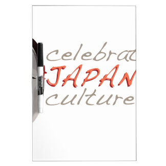 Japanese Culture Dry Erase Board