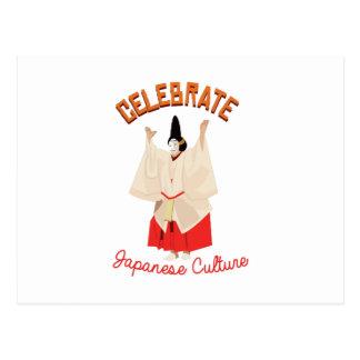 Japanese Culture Postcard