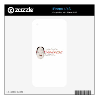 Japanese Culture Skin For The iPhone 4