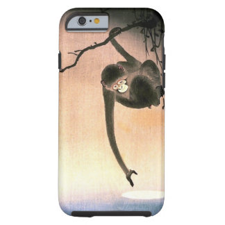Japanese Dangling Monkey Woodblock Art Ukiyo-E Tough iPhone 6 Case