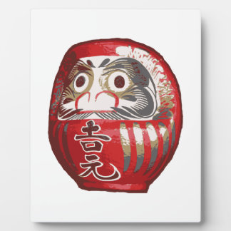 Japanese Daruma Doll Plaque