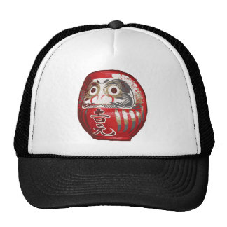 Japanese Daruma Doll Trucker Hat