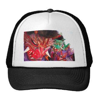 Japanese Demon Festival Float Trucker Hat