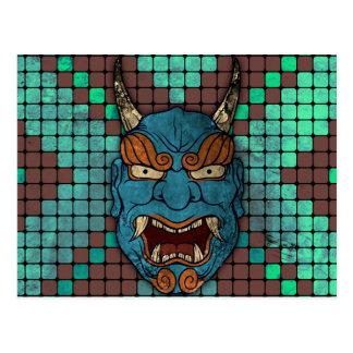 Japanese Demon Postcard
