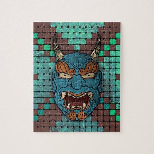 Japanese Demon Jigsaw Puzzles