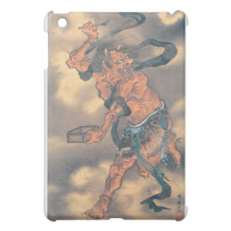 Japanese Demon with Horns and Brush iPad Mini Case