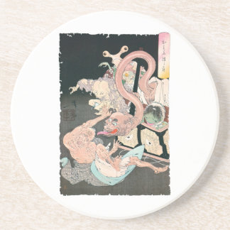 Japanese Demons and Ghosts Coaster