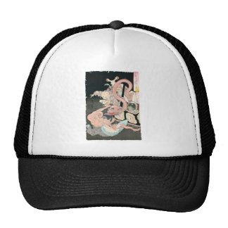 Japanese Demons and Ghosts Trucker Hats