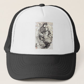 Japanese Demons of Sea Trucker Hat