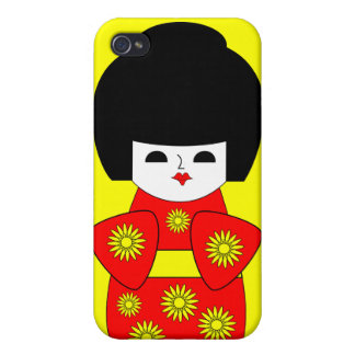 Japanese Doll iPhone 4/4S Cover