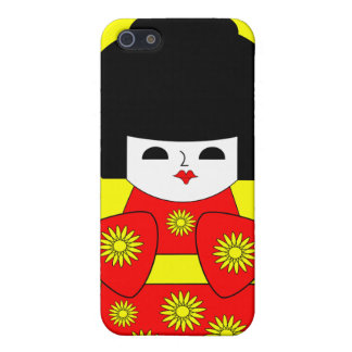 Japanese Doll iPhone SE/5/5s Cover