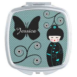 Japanese Doll Mirror For Makeup