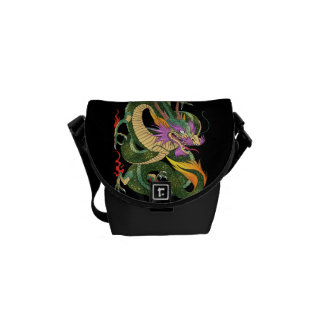 Japanese dragon Book of 100 dragons LEVEL 2 Courier Bag