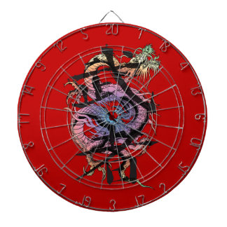 Japanese Dragon Dartboard