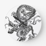 Japanese Dragon - In the Chinese Style Clocks