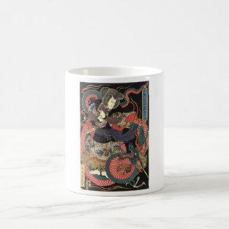 Japanese Dragon Painting circa 1860 Coffee Mug