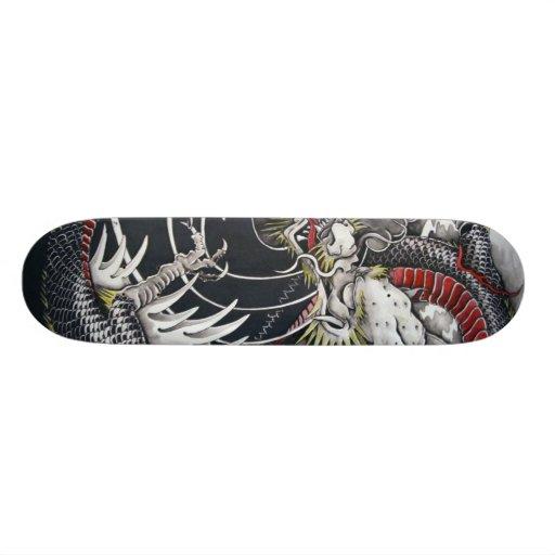 Japanese Dragon Skateboard