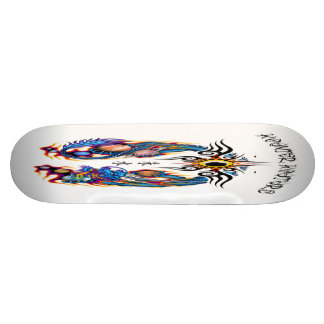 Japanese Dragon Skateboard Deck