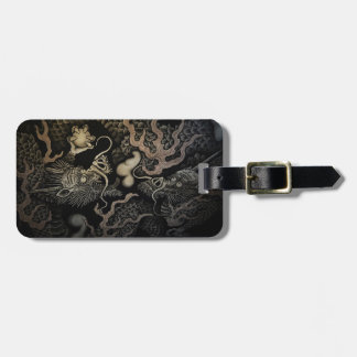 Japanese Dragons Luggage Tag