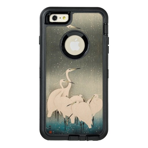 Japanese Egrets in Snow Wildlife Otterbox Case