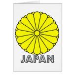 Japanese Emblem Greeting Card